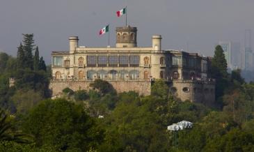 Bosques e Castelo de Chapultepec