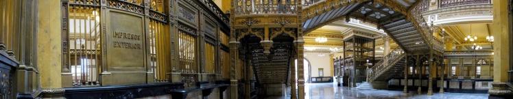 Panorâmica do Palácio Postal
