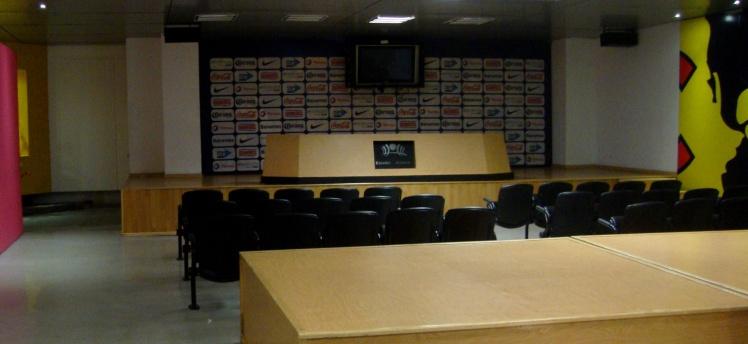 Sala de Conferência - Estádio Azteca