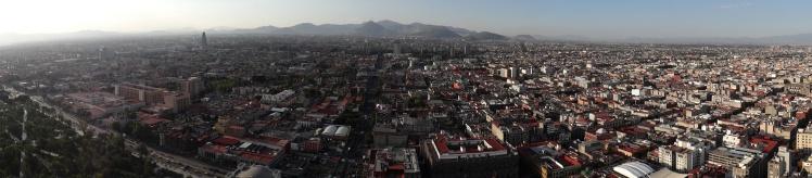 Panorâmica desde o Mirador Torre Latinoamericana