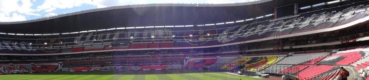 Panorâmica do Estádio Azteca