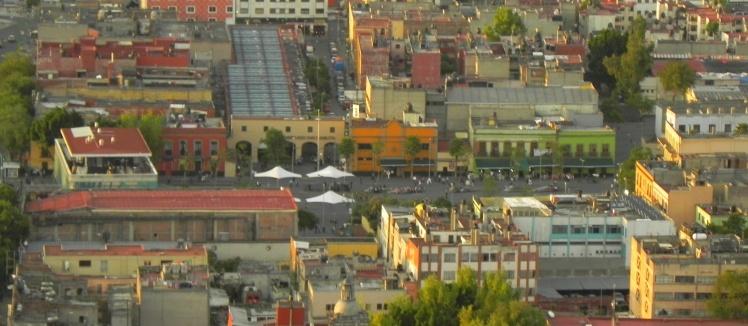 Plaza Garibaldi vista do Mirador Torre Latinoamericana