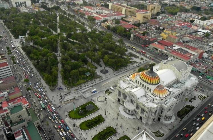Alameda e Palácio Belas Artes - Mirador Torre Latinoamericana