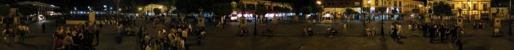 Panorâmica da Plaza Garibaldi