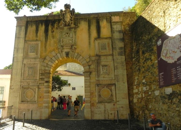 Entrada do Castelo de São Jorge