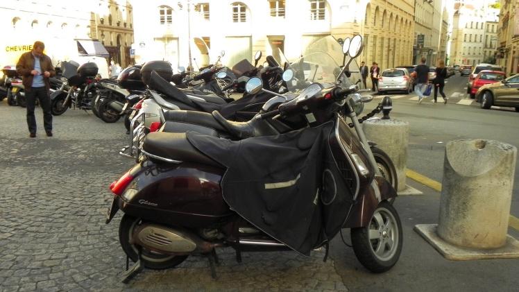 Essas scooters estilo