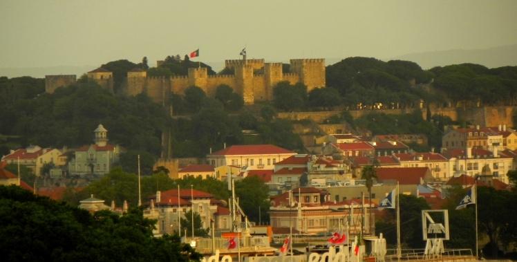 Castelo de São Jorge visto do Parque Eduardo VII