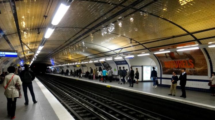 Metro de Paris - Estação Concorde