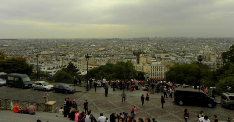 Visual de Paris desde a Basílica de Sacré-Coeur