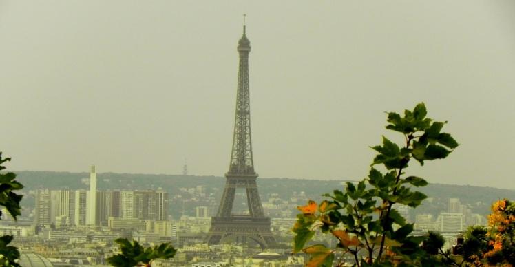 Torre Eiffel vista desde a Sacré-Coeur