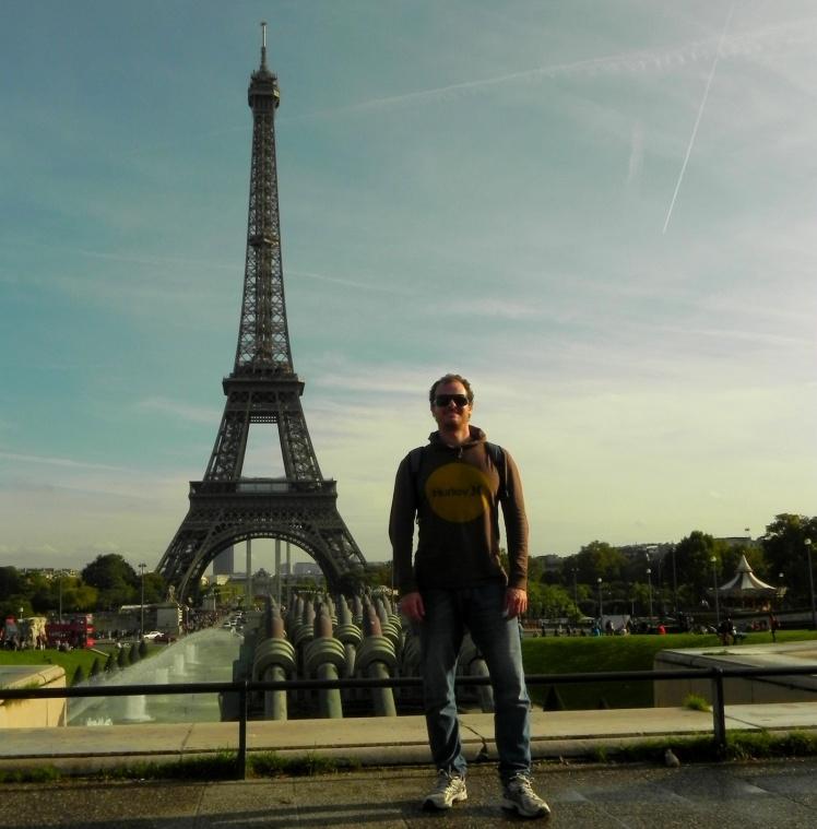 Torre Eiffel vista a partir do Trocadero