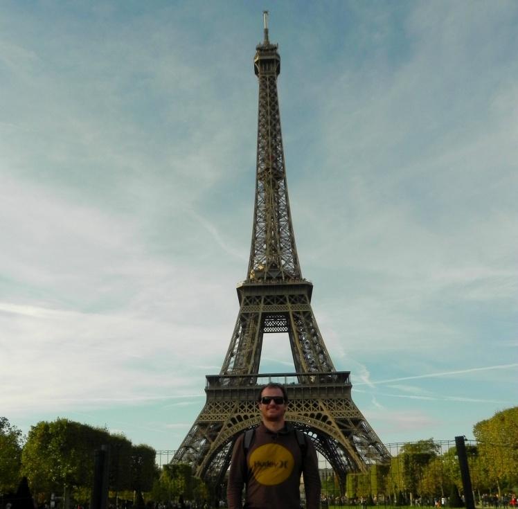 Torre Eiffel vista do Torre Eiffel vista do Champ de Mars