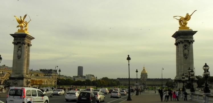 Ponte Alexandre III e a Explanada dos Inválidos