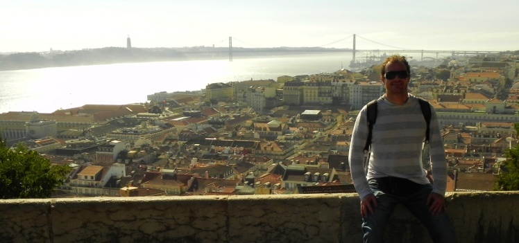 Vista de Lisboa desde o Castelo de São Jorge