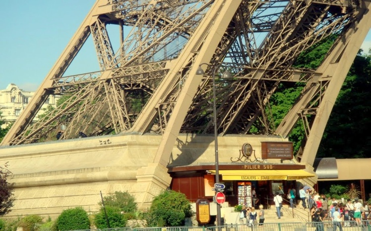 Torre Eiffel - Pilar Sul
