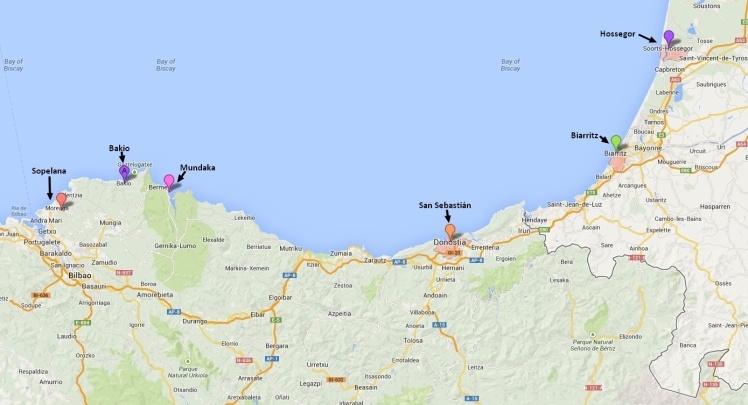 Picos País Basco - Espanha e França