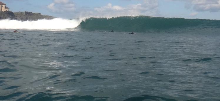 O surfe neste dia em Mundaka já valeu toda a viajem!
