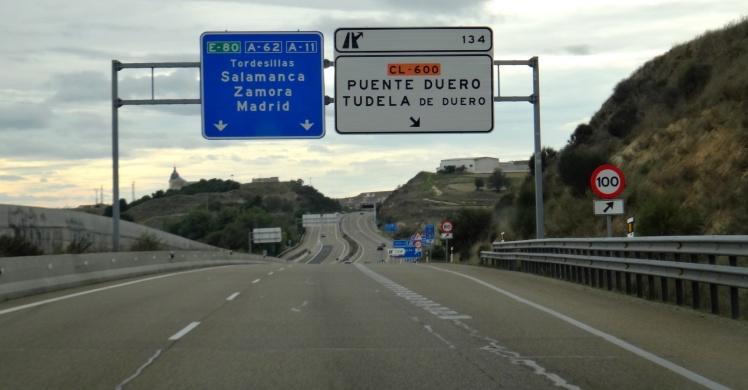 No caminho de volta à Portugal, quase em Salamanca