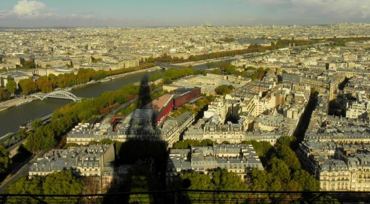 Vista da Torre Eiffel - 2º Nível