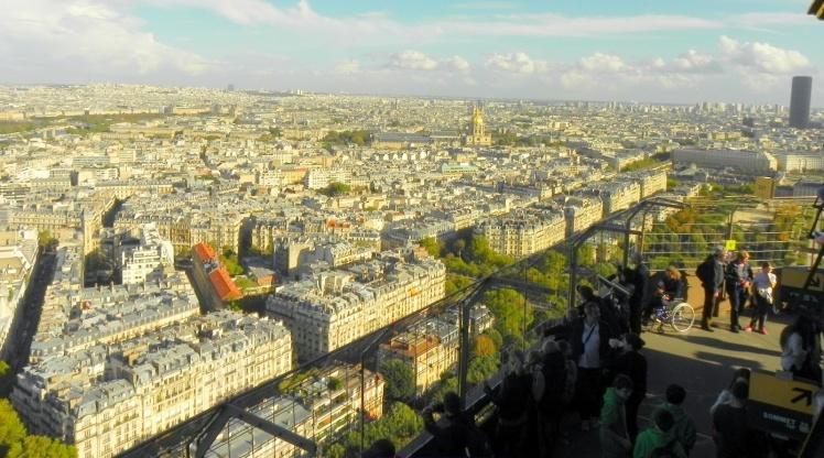 Vista daTorre Eiffel - 2º Nível