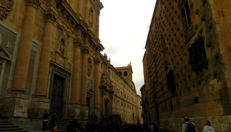 Universidade de Salamanca e a Casa das Conchas