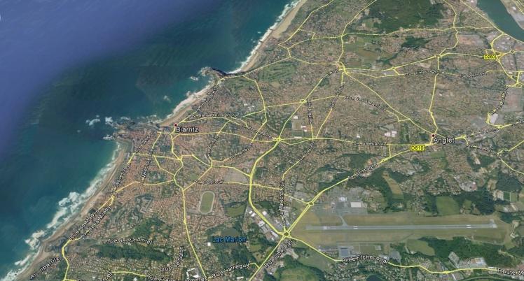 Plano de Biarritz