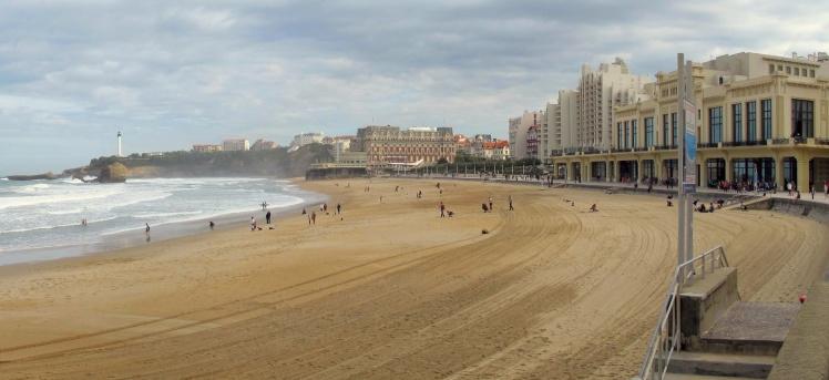 Praia Grande e Praia Miramar - Biarritz