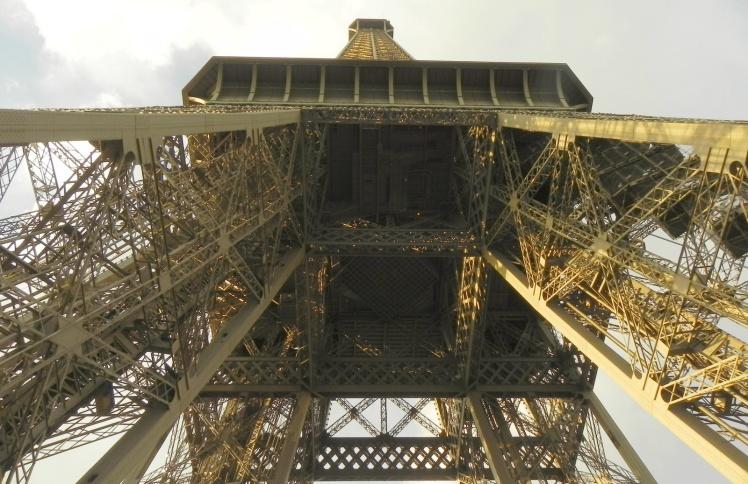 Imagem a partir do 1º nível da Torre Eiffel