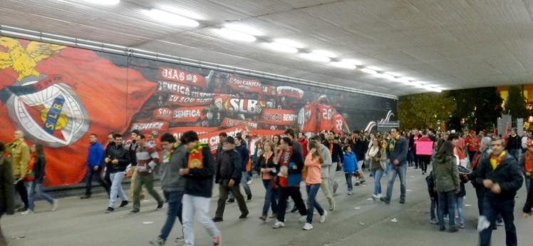 Estádio da Luz em Lisboa - Portugal x Suécia