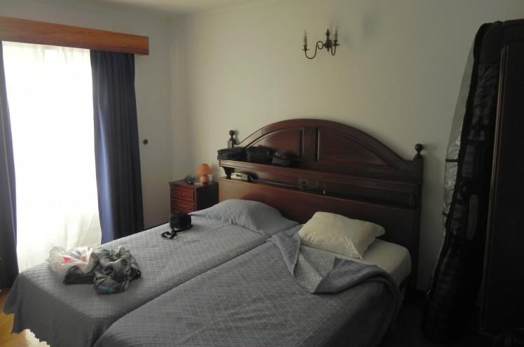 Meu quarto no Hotel Camarão