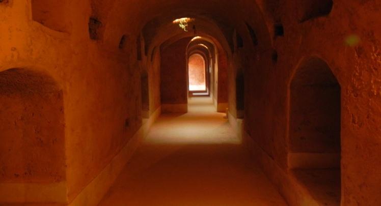 Passagens subterrâneas do Palácio El Badi