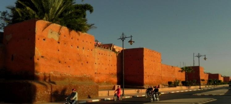 Muros da Medina de Marrakesh