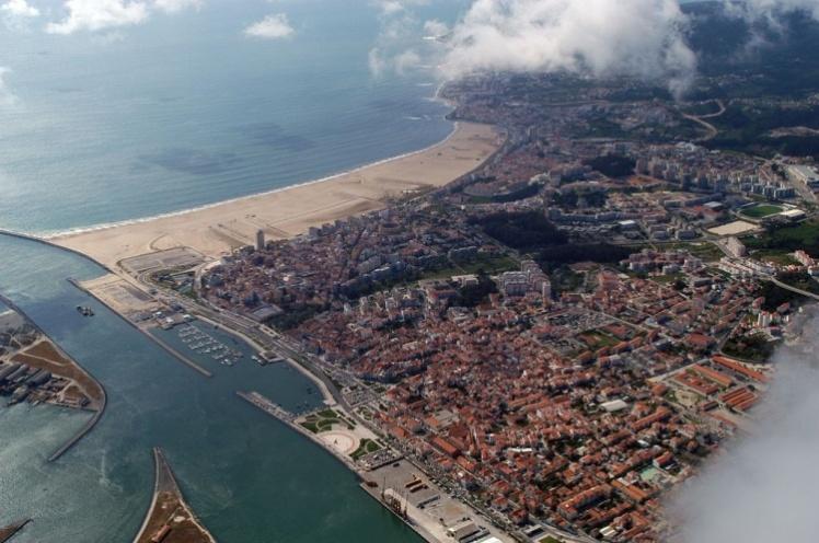 Imagem aérea de Figueira da Foz
