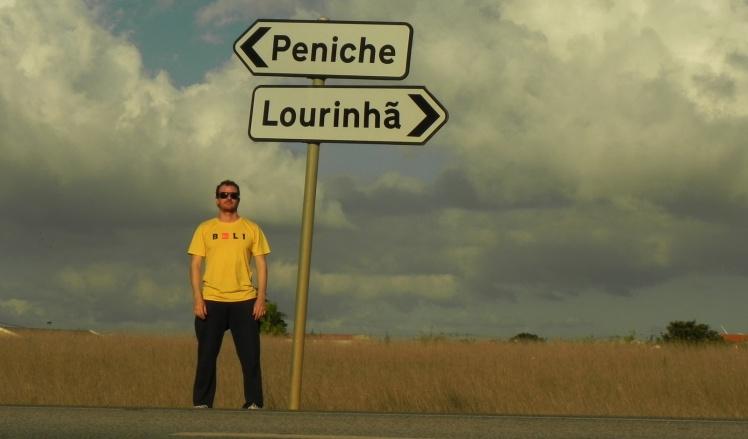 On the road - Peniche