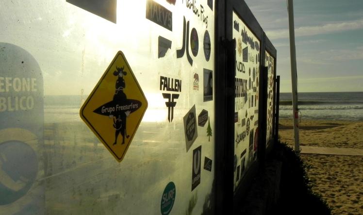 Grupo Freesurfers em Supertubos - Peniche