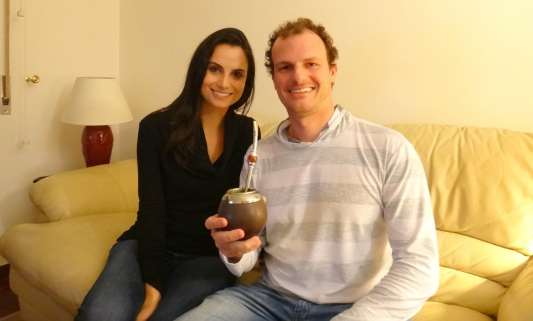 Visita à Fernanda Lazzarotto em Oeiras. Matei a saudades de um bom chimarrão !!