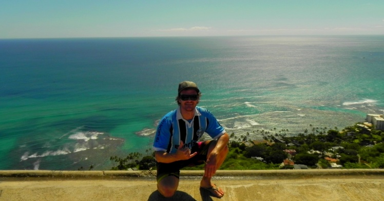 Vista desde o topo do Diamond Head