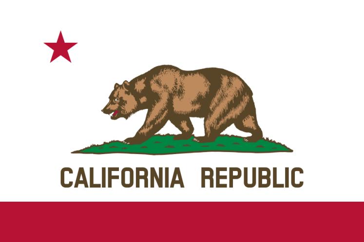 Bandeira do Estado da Califórnia