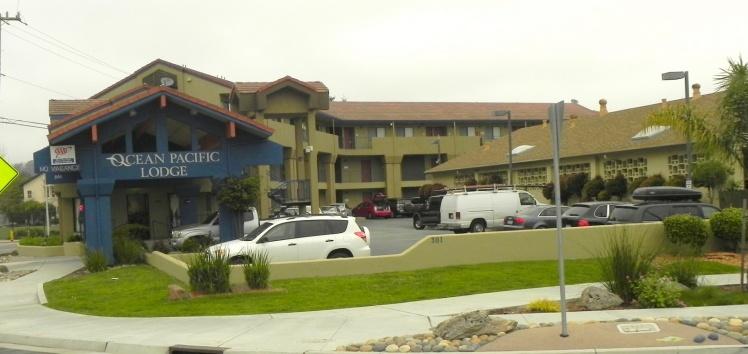 Ocean Pacific Lodge - Nossa hospedagem em Santa Cruz