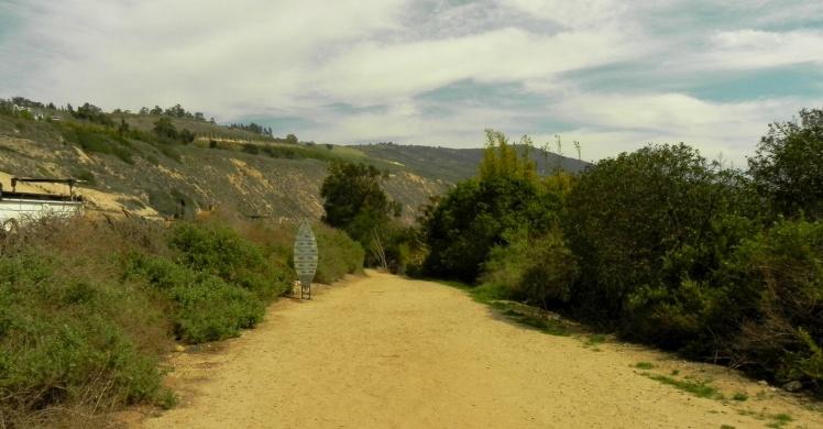 Rincon - Caminho do estacionamento para a praia