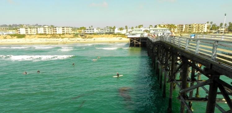 Pier de Pacific Beach