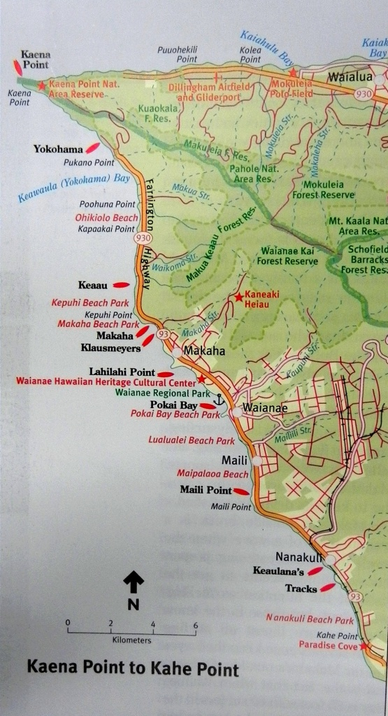 West Side - Surf Map