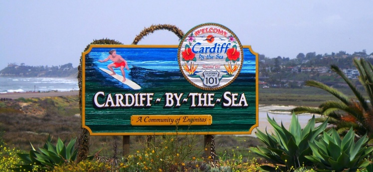 Cartel de Cardiff-by-the-Sea