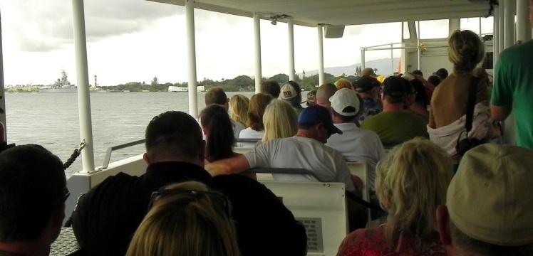 Pearl Habor - Barco para o USS Arizona Memorial