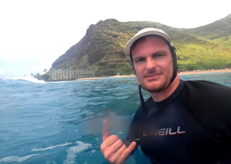 Tiburón em Makaha