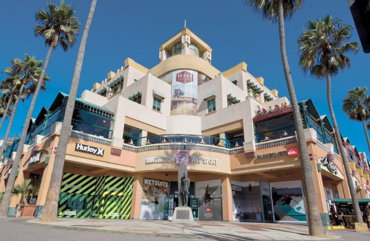 Surf-Shops de Huntington Beach