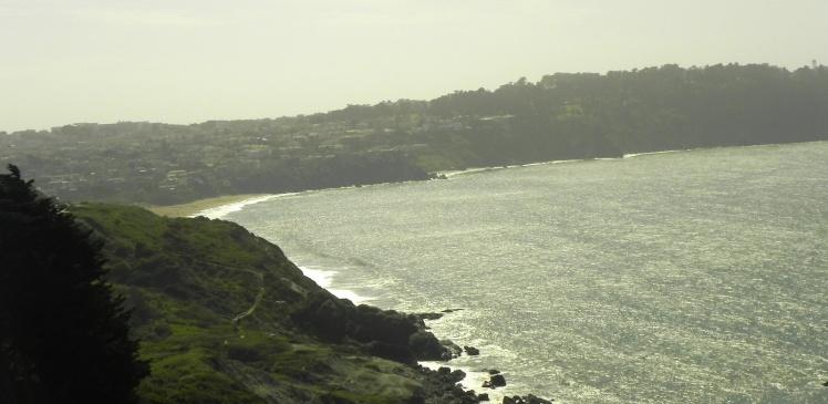 Rockaway Beach em Pacífica - Área metropolitana de San Francisco