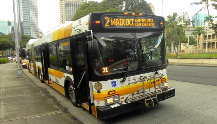Bus com rack para as bikes