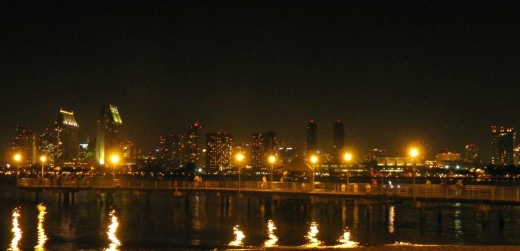 San Diego - Vista de Downtown desde Coronado