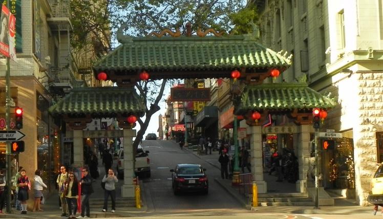 Chinatown Gate - Bairro Chines de San Francisco